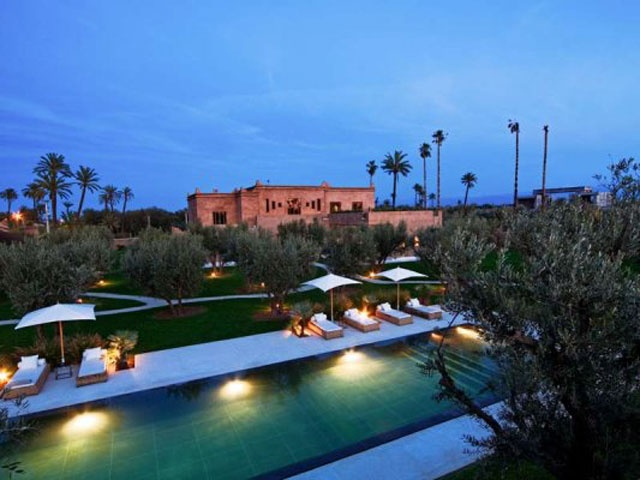 Hotels Dans La Palmeraie De Marrakech